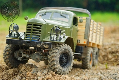 KingKong RC Truck Kit CA30, ZIS/ZIL-151 6x6, 1:12
