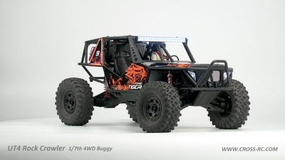 CROSS-RC Buggy UT4, 4WD, 1:7