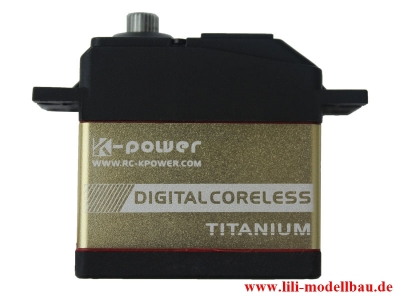K-Power Digital Coreless Servo 15kg