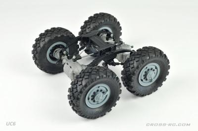 CROSS-RC Trial Truck KIT UC6 6x6 upgrade verze