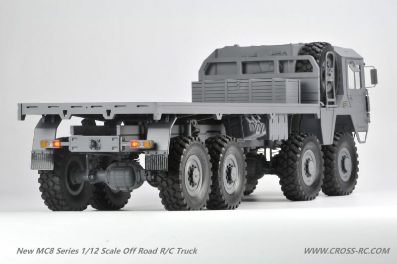 lili modellbau cross rc truck kit new generation mc8 a 8x8. Black Bedroom Furniture Sets. Home Design Ideas