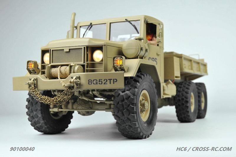 lili modellbau cross rc truck hc6 6x6 kit 1 12. Black Bedroom Furniture Sets. Home Design Ideas