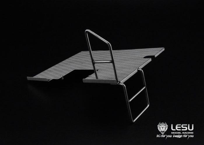 lili modellbau plattform mit leiter f r tamiya trucks in 1 14 oder andere. Black Bedroom Furniture Sets. Home Design Ideas