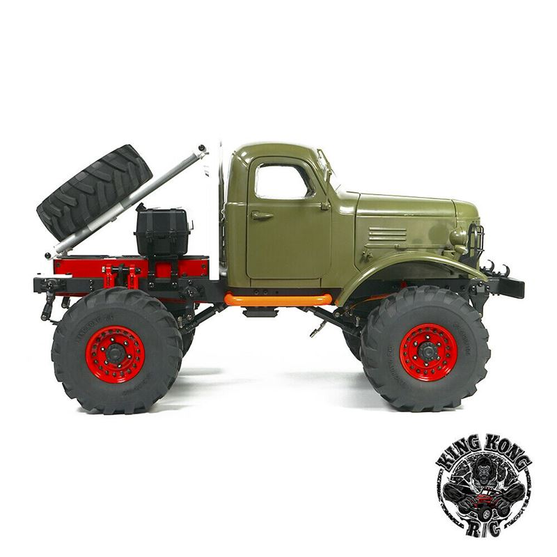 1//10 RC Modell Truck Rock Crawler Zubehör Metall vorne /& hinten