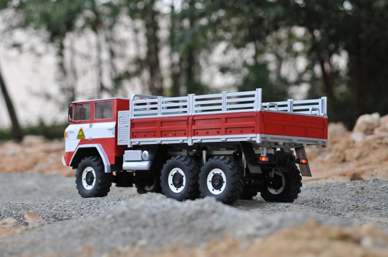 lili modellbau cross rc trial truck kit xc6 6x6. Black Bedroom Furniture Sets. Home Design Ideas