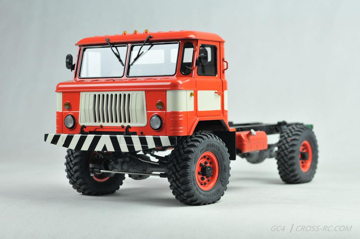 lili modellbau cross rc truck gc4 4x4 kit 1 10. Black Bedroom Furniture Sets. Home Design Ideas