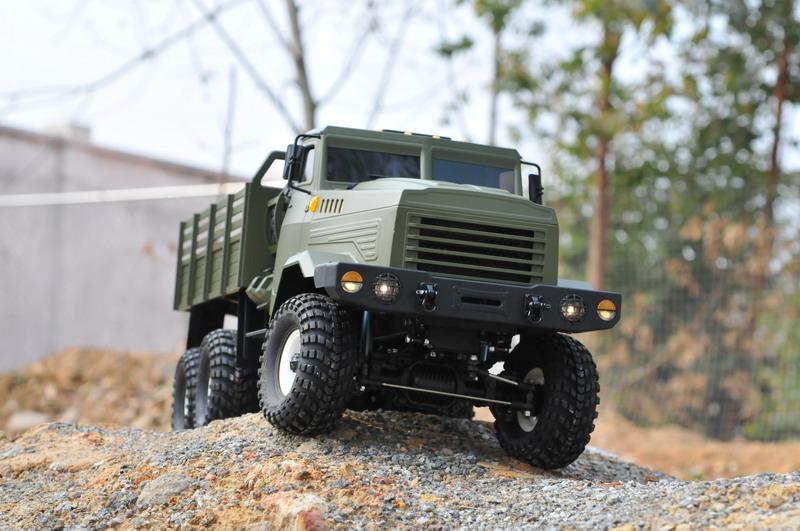 lili modellbau cross rc trial truck kit kc6e 6x6. Black Bedroom Furniture Sets. Home Design Ideas