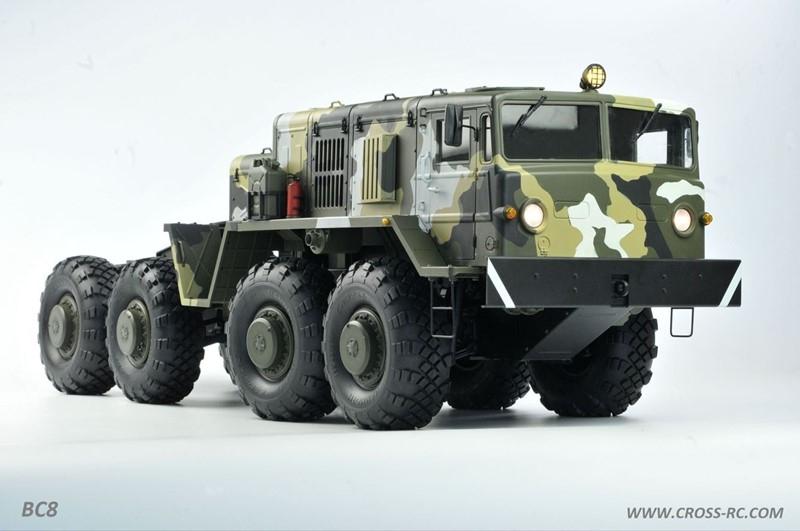 lili modellbau cross rc truck kit bc8 mammoth flagship. Black Bedroom Furniture Sets. Home Design Ideas