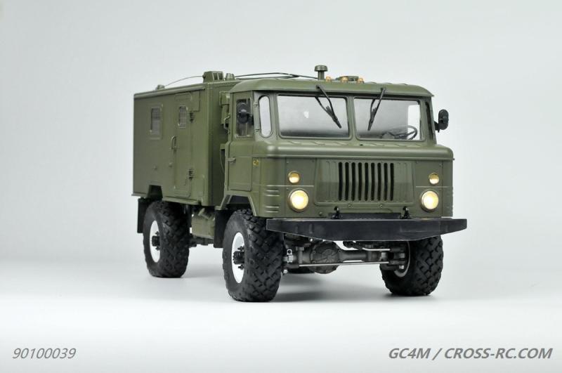 lili modellbau cross rc truck gc4m 4x4 kit. Black Bedroom Furniture Sets. Home Design Ideas