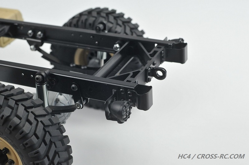 lili modellbau cross rc truck hc4 4x4 kit 1 10. Black Bedroom Furniture Sets. Home Design Ideas